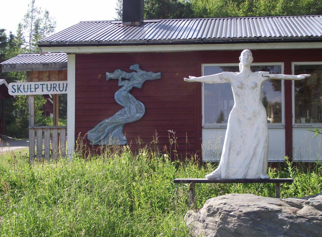 Bild på utställningslokalen Skulpturum